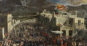 Domenico Gargiulo, L'eruzione del Vesuvio del 1631