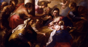 Valerio Castello - The Adoration of the Shepherds