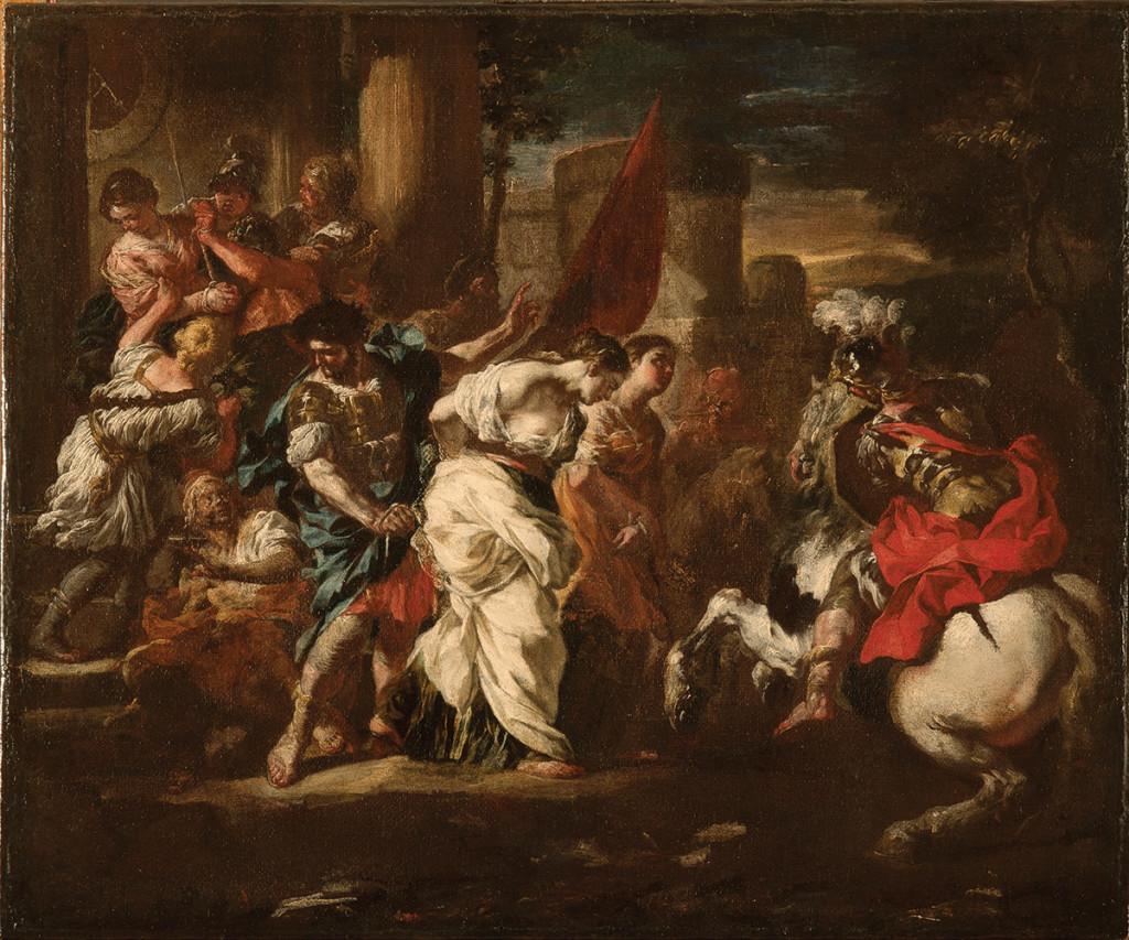 F. Solimena, SS. Tecla, Archelaa e Susanna condotte al martirio