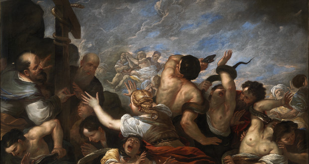 Luca Giordano, Moses and the Brazen Serpent